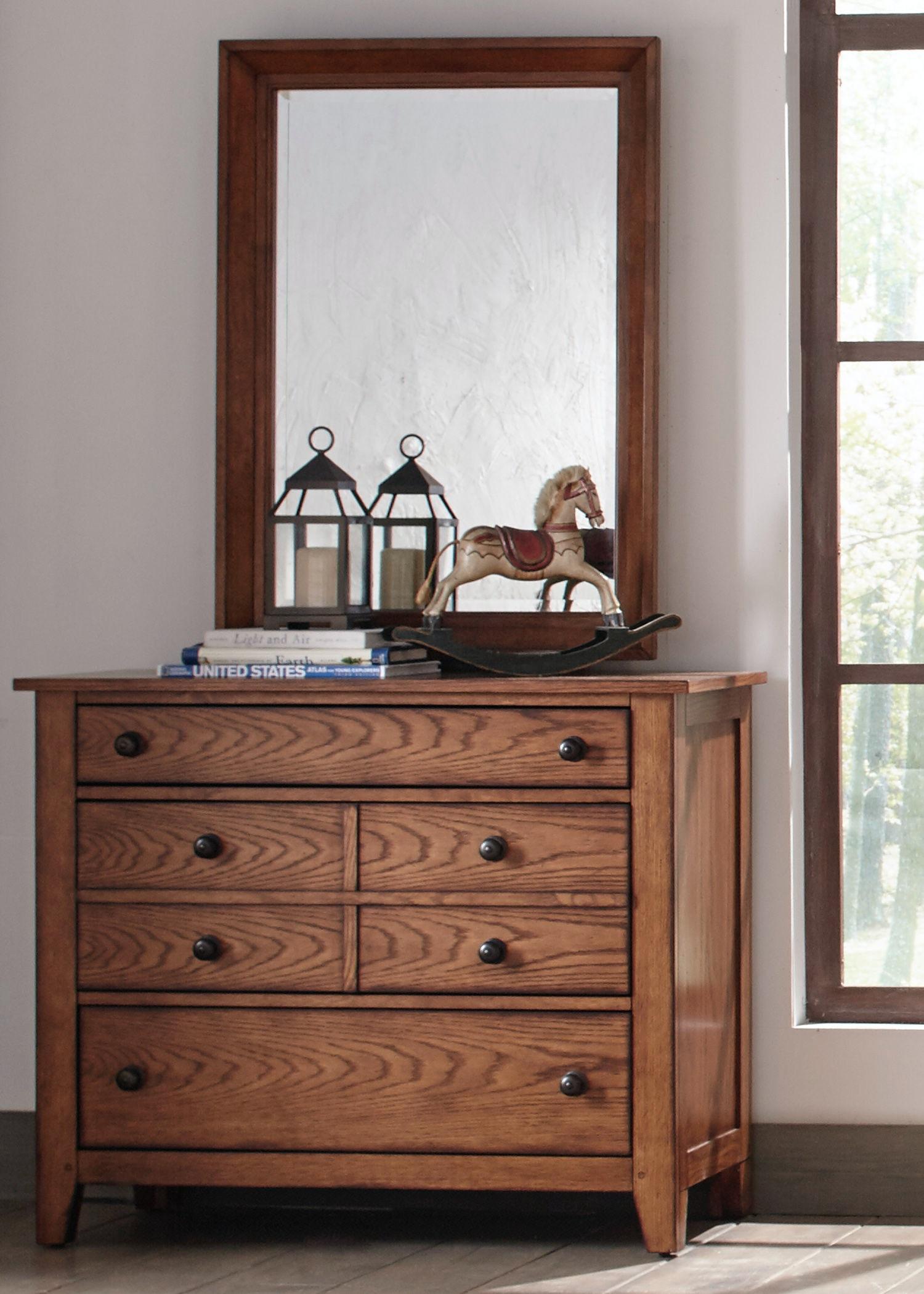 liberty furniture dresser u0026 mirror 175ybrdm