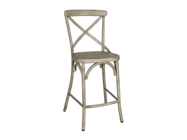 Liberty Furniture X Back Counter Chair - White 179-B300524-W