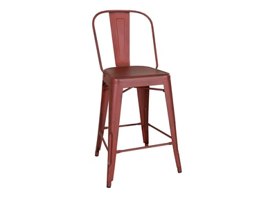 Liberty Furniture Bow Back Counter Chair - Red (RTA) 179-B350524-R