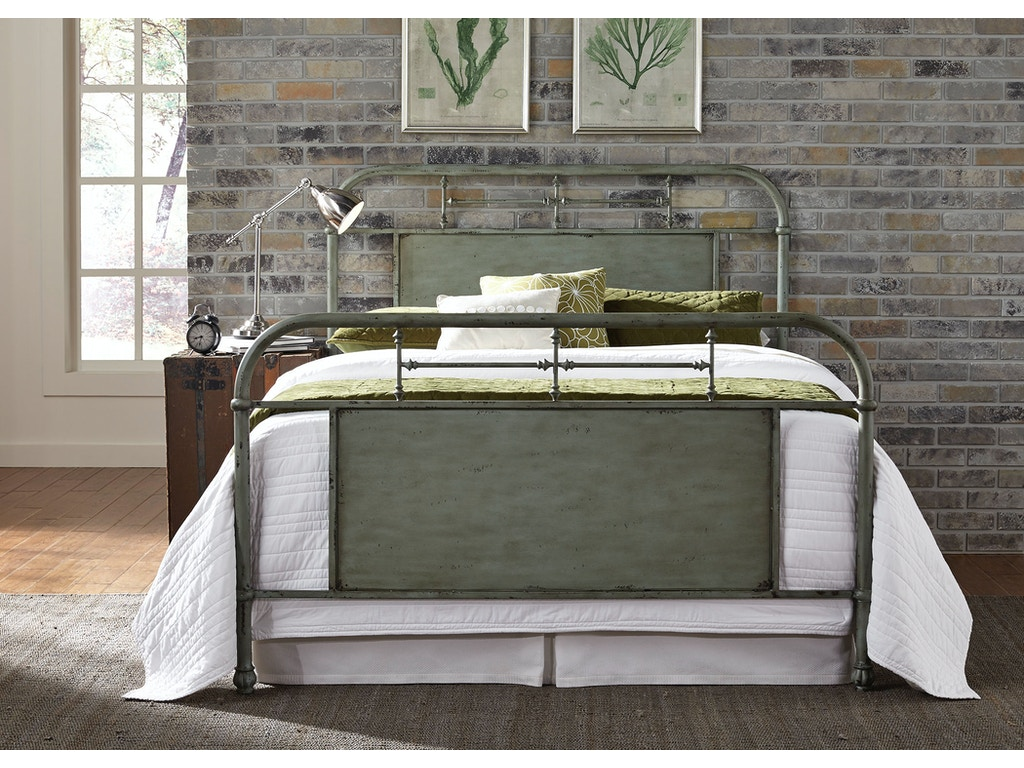 Liberty Furniture Bedroom Queen Metal Bed Green 179 Br13hfr G China Towne Furniture Solvay