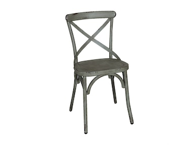 Liberty Furniture X Back Side Chair - Green 179-C3005-G
