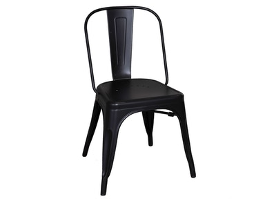 Liberty Furniture Dining Room Bow Back Side Chair - Black