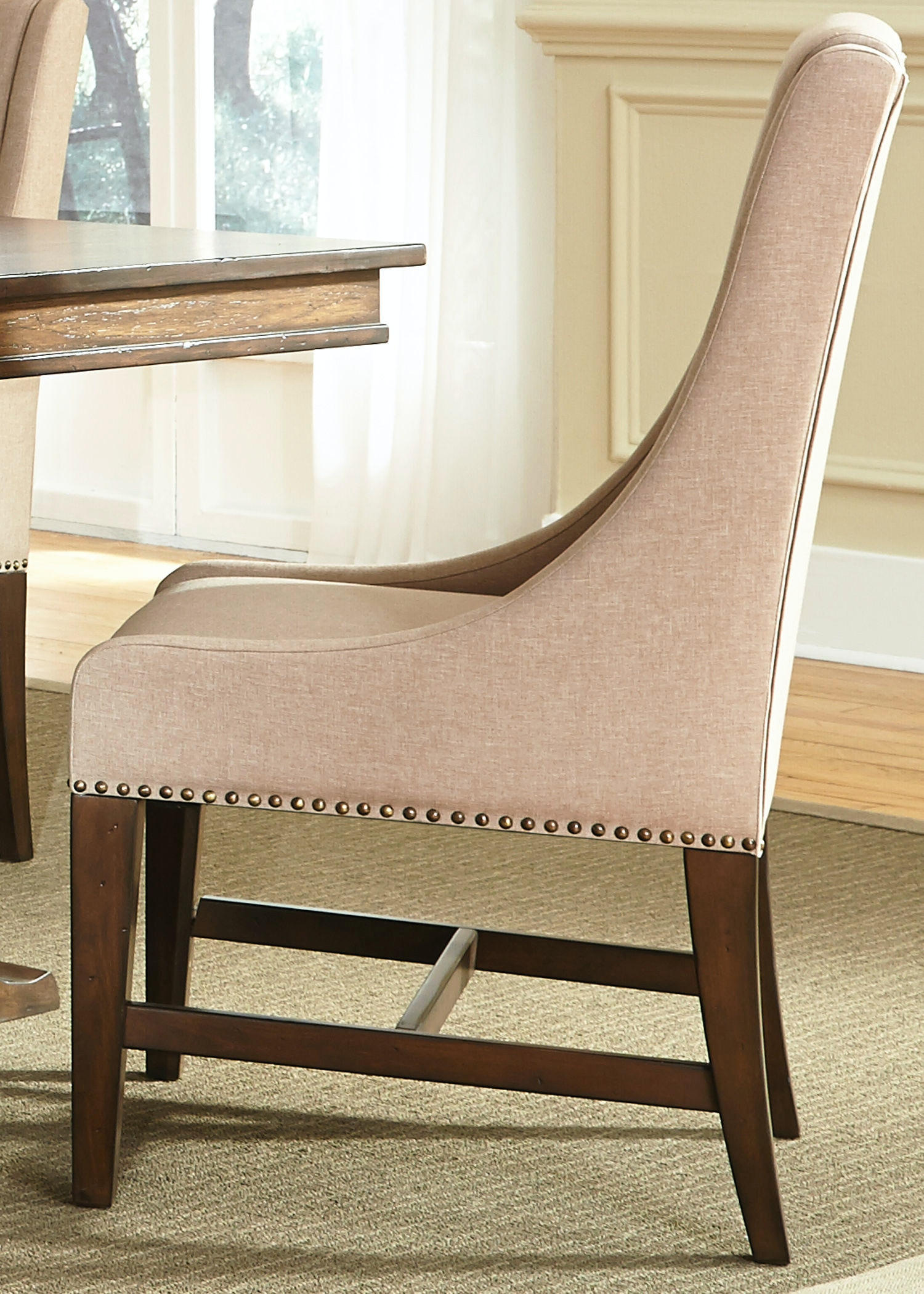Bon Liberty Furniture Dining Room Uph Side Chair (RTA) 242 C6501S At Patrick  Furniture