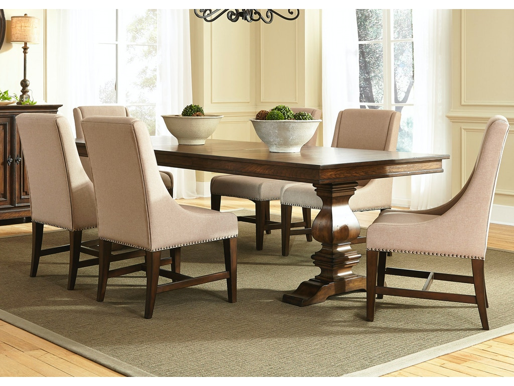 Liberty Furniture 7 Piece Trestle Table Set 242 DR 7TRS