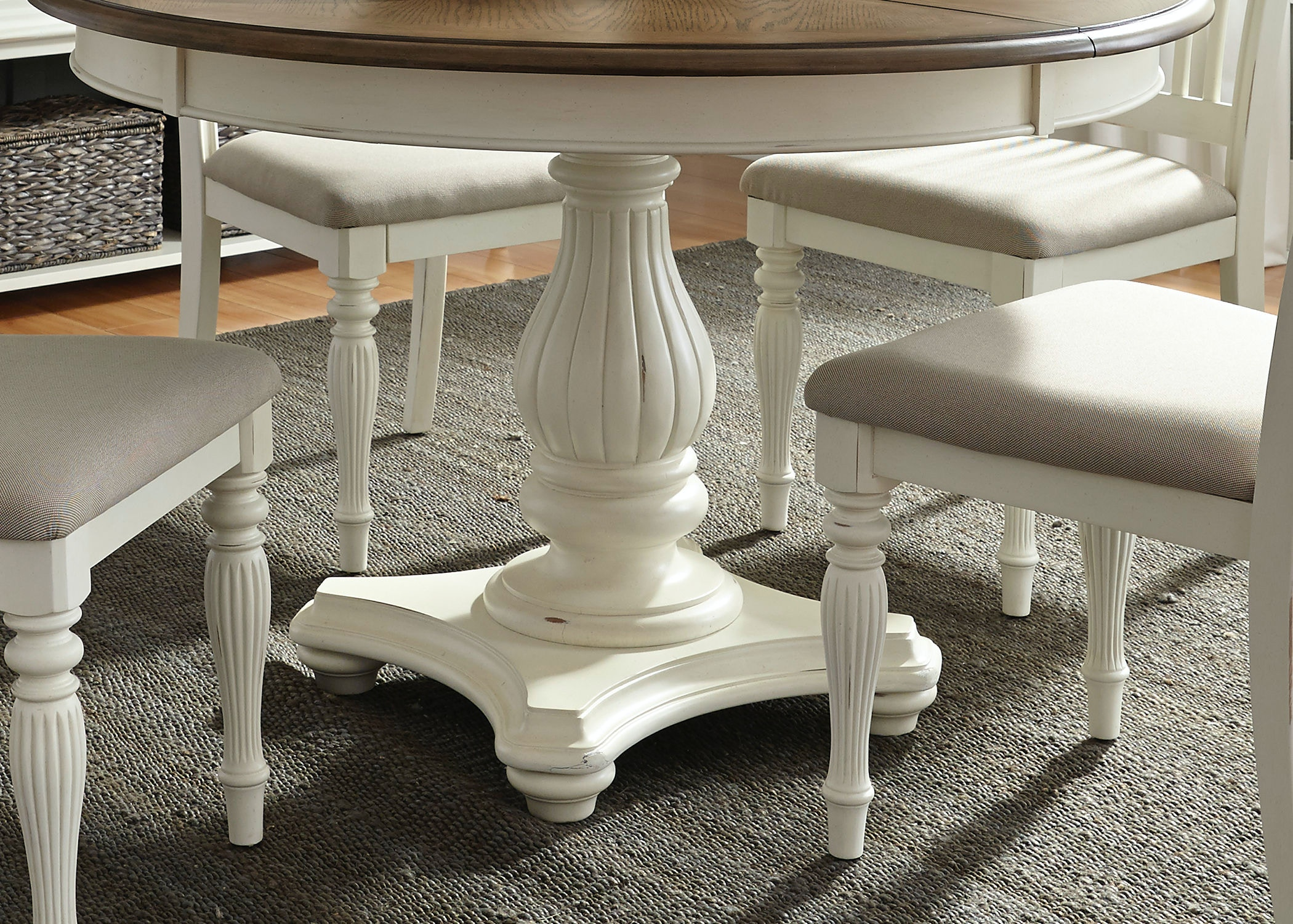 Liberty Furniture Pedestal Table Base 334 P4860