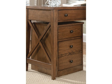 Liberty Furniture Mobile File Cabinet 382-HO146