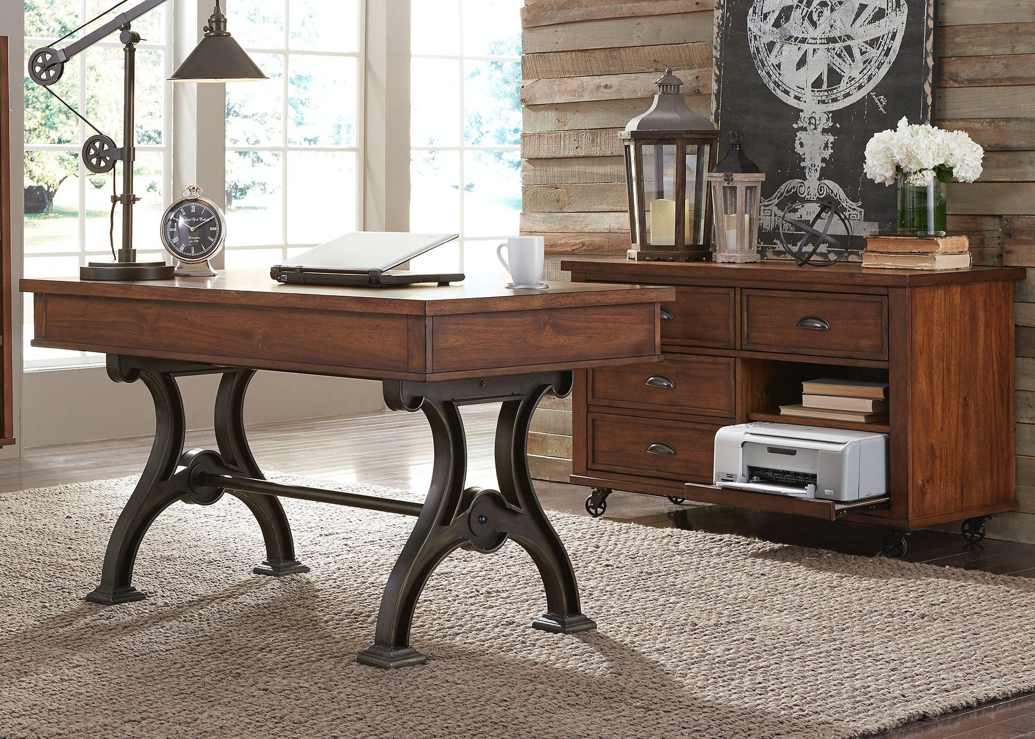 Liberty Furniture Complete Desk 411 HO CDS