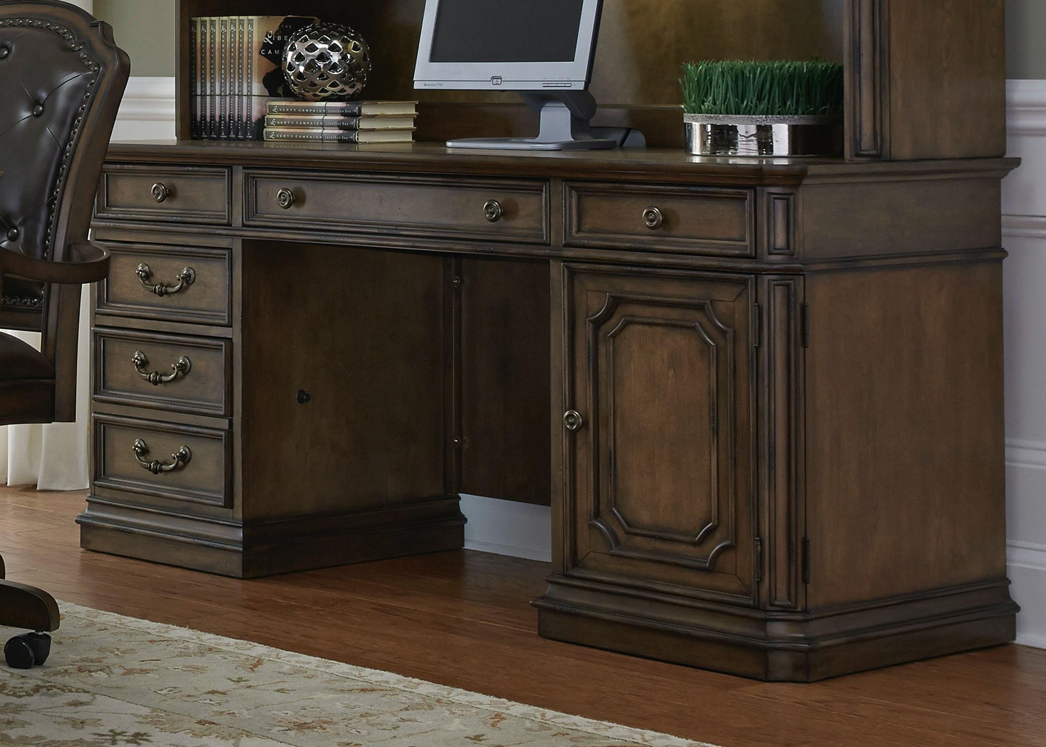 Liberty Furniture Jr. Executive Credenza Top 487 HO120T
