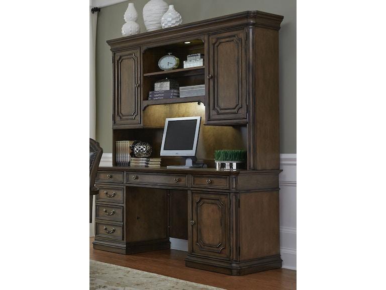 Credenza Peru : Liberty furniture home office jr executive credenza 487 hoj jec