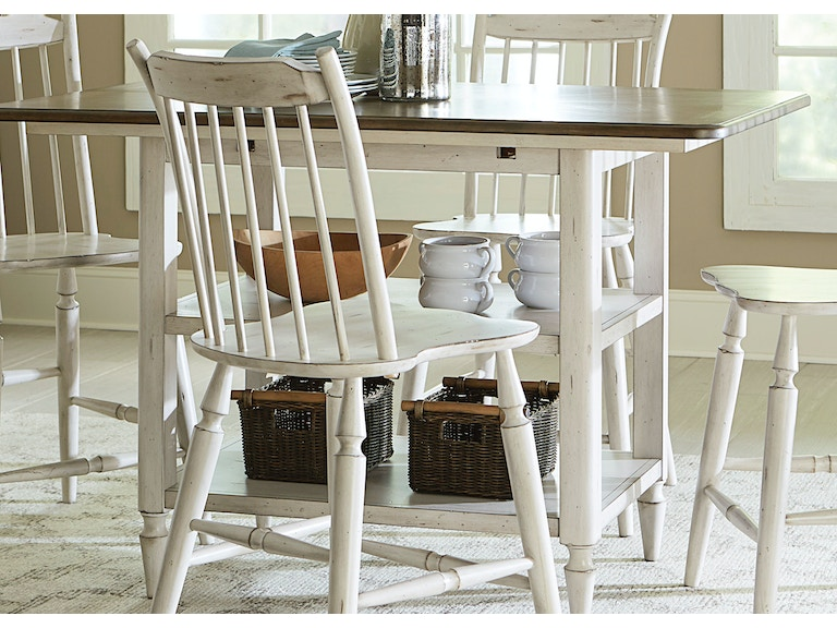 Liberty Furniture Dining Room Center Island Table 517 IT5454