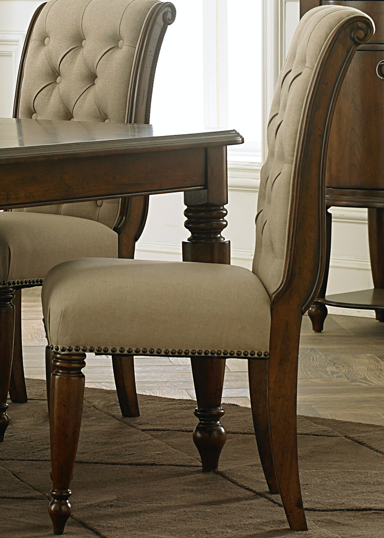Liberty Furniture Dining Room Uph Side Chair (RTA) 545 C6501S   Turner  Furniture Company   Avon Park And Sebring, FL