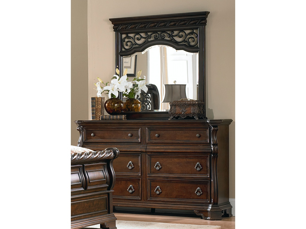 Homestead Collection Su Bedroom Dresser And Mirror 575 Br Dm Sofas Unlimited Mechanicsburg