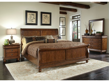 Liberty Furniture King Sleigh Bed 589-BR-KSL