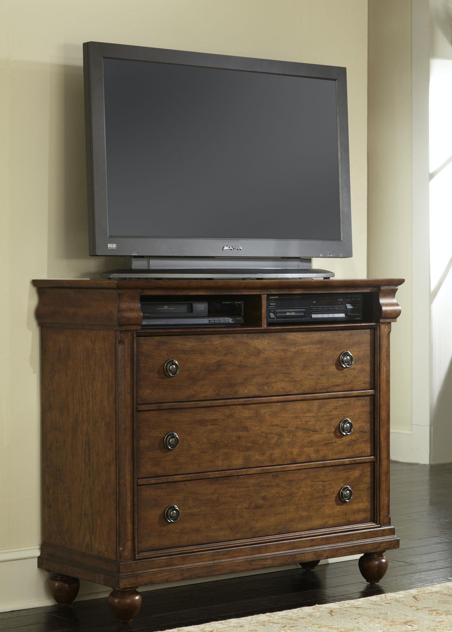 Liberty Furniture Bedroom Media Chest 589 BR45 Patrick Furniture Cape Gir