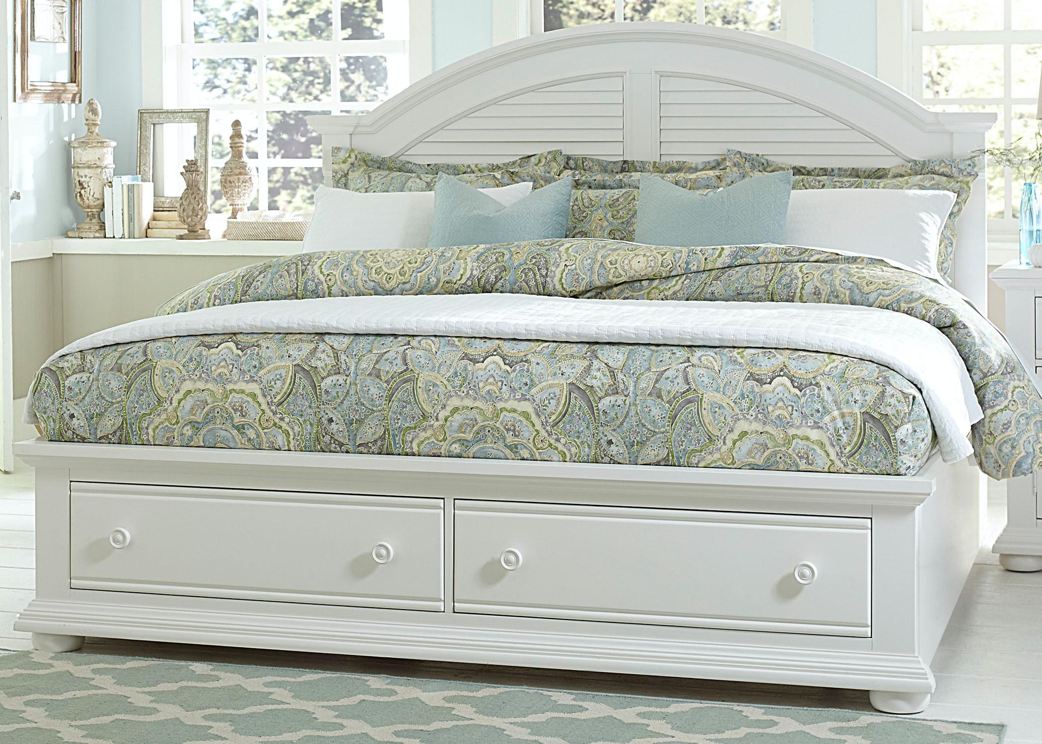 Liberty Furniture King Storage Bed 607 BR KSB ...
