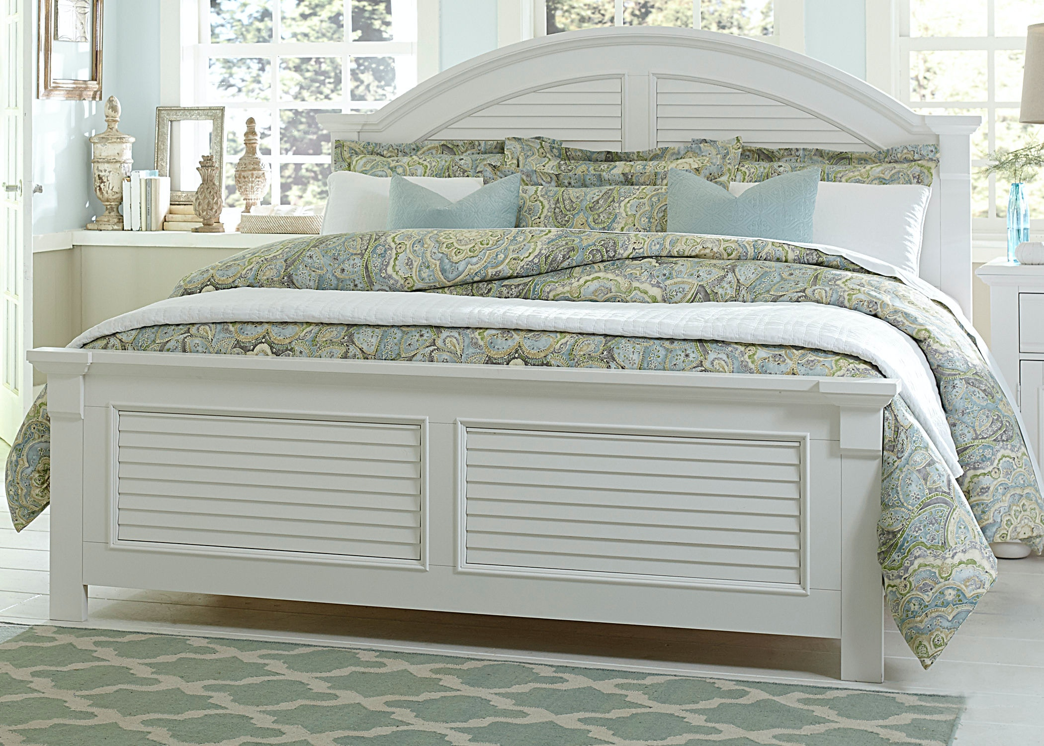 Elegant Liberty Furniture Bedroom Queen Panel Headboard 607 BR13 At D Noblin  Furniture