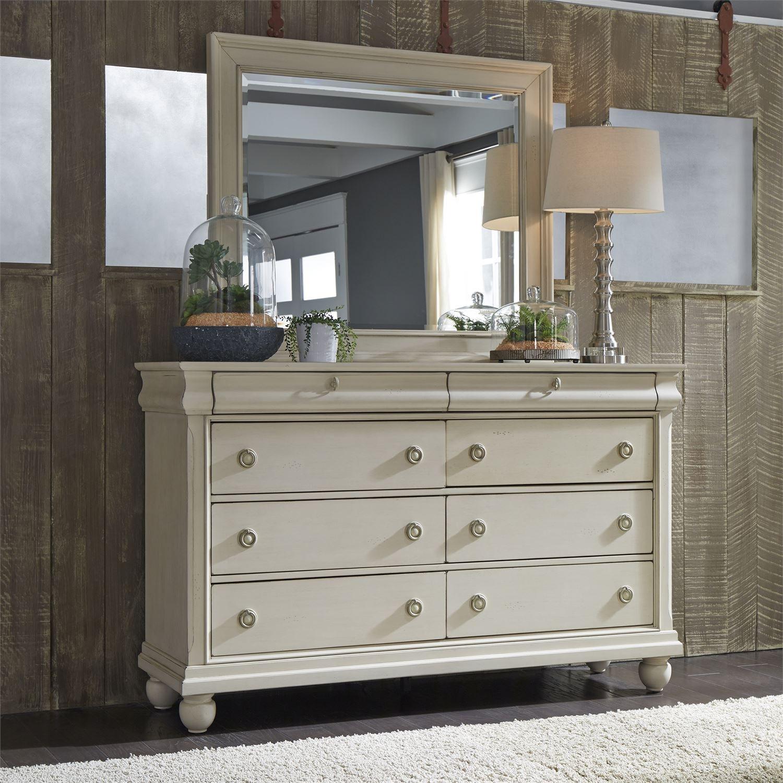 Liberty Furniture Bedroom 8 Drawer Dresser 689 BR31 At D Noblin Furniture