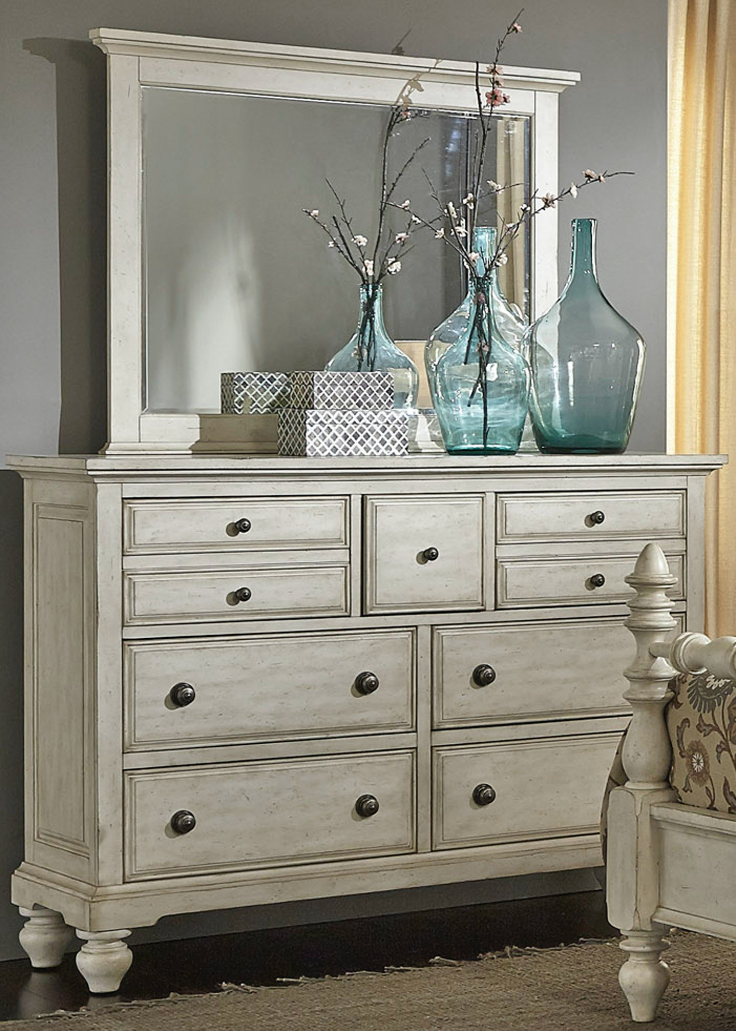 Incroyable Liberty Furniture Dresser And Mirror 697 BR DM ...