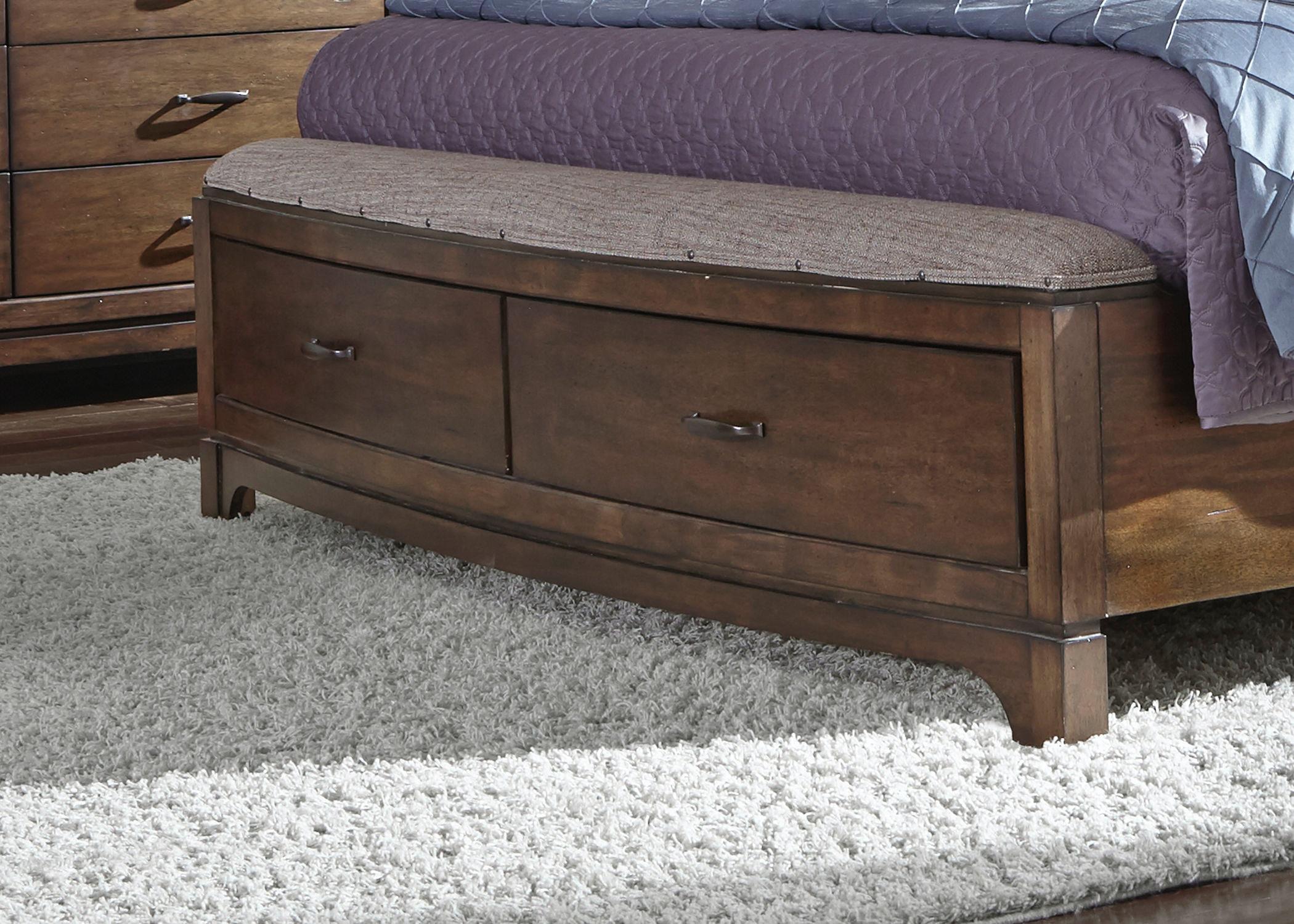 Liberty Furniture Queen Storage Footboard 705 BR23FS At Gustafsonu0027s  Furniture And Mattress