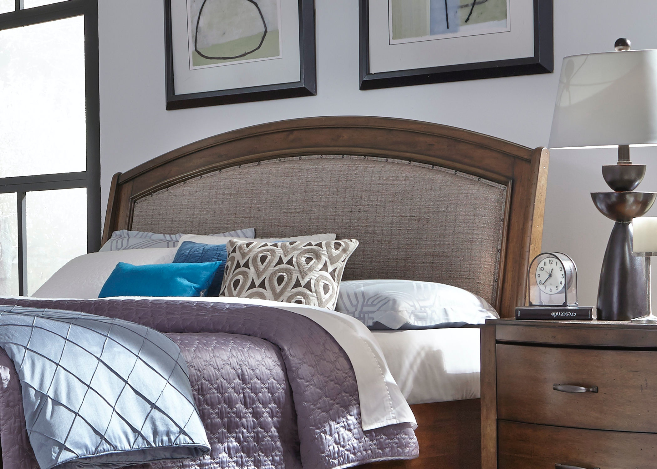 Ordinaire Liberty Furniture Bedroom Queen Upholstered Headboard