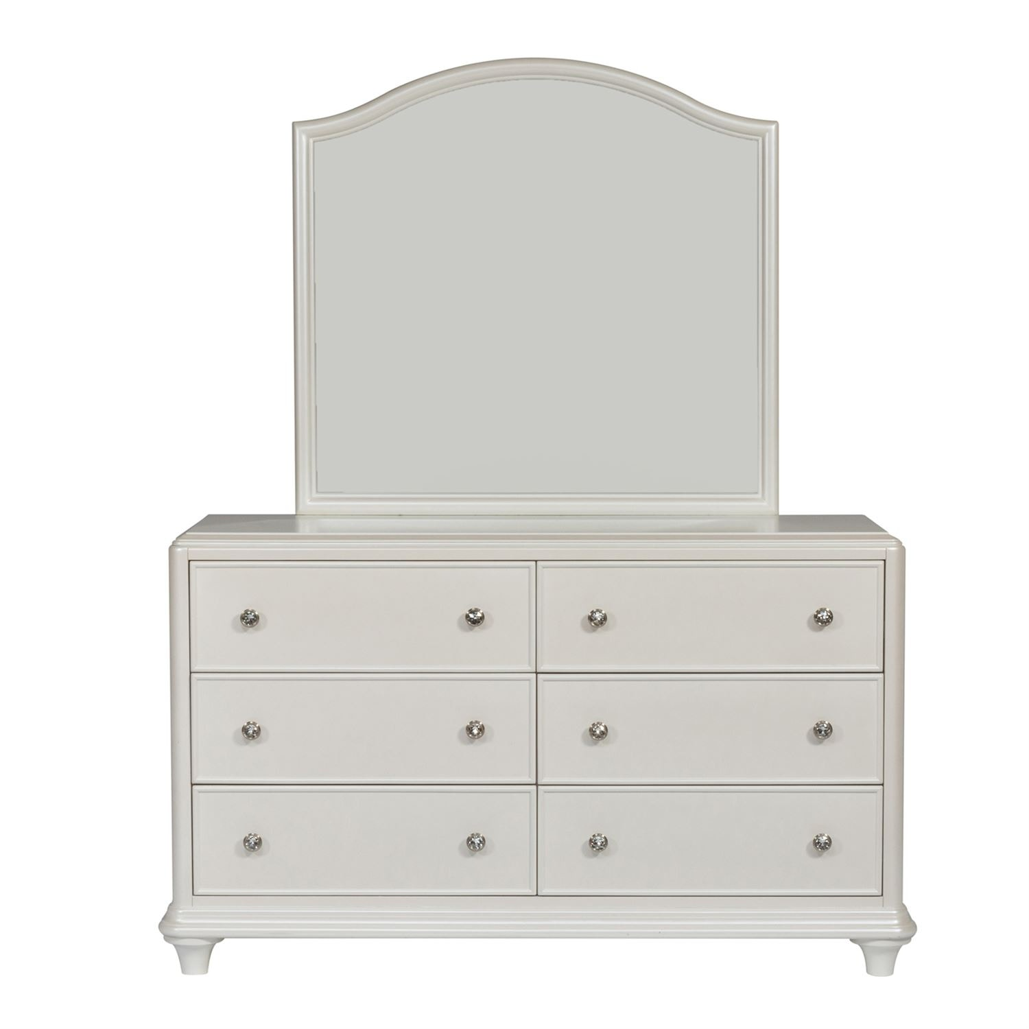 Captivating Liberty Furniture Dresser And Mirror 710 YBR DM