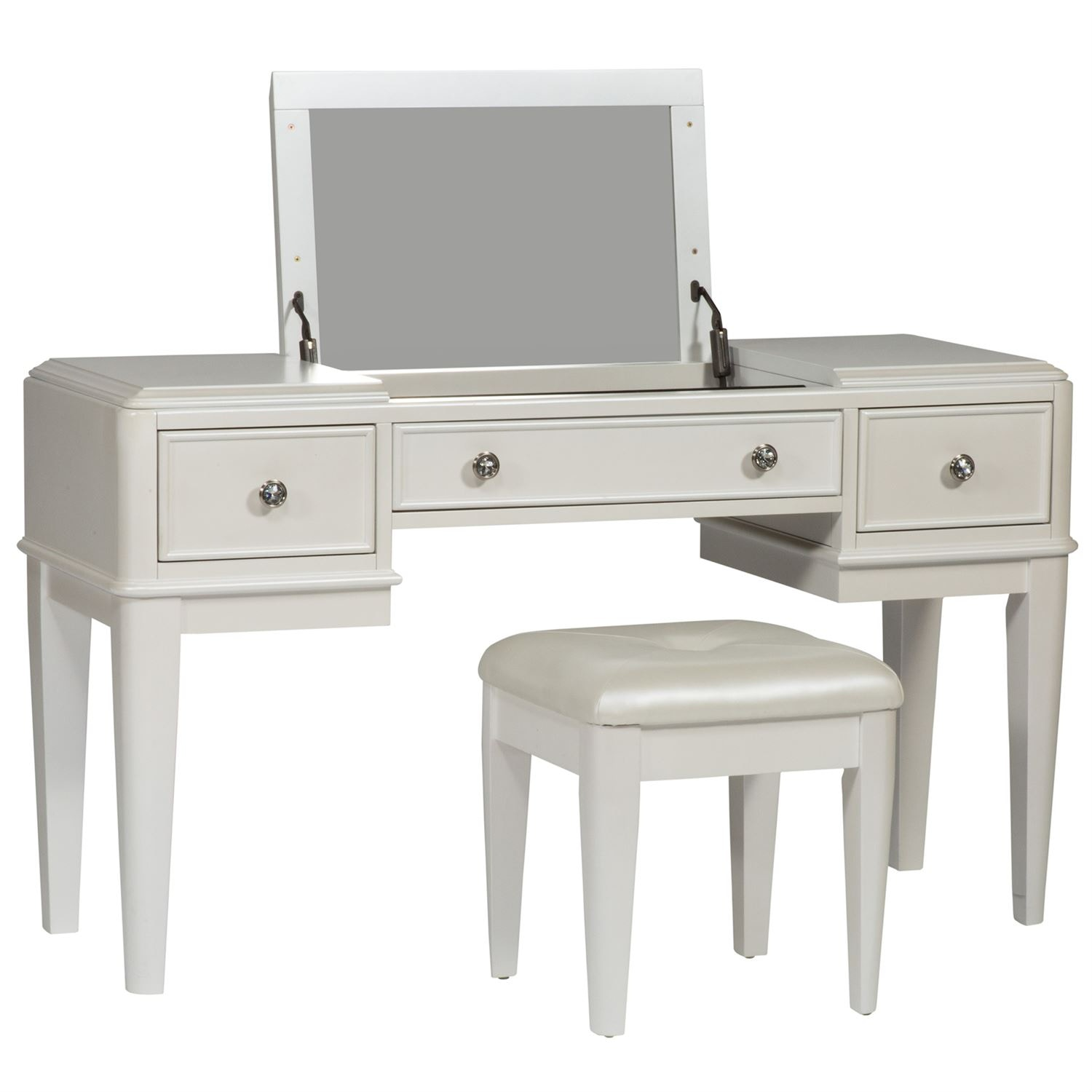 Liberty Furniture Bedroom Vanity 710 YBR VN   Furniture Kingdom    Gainesville, FL