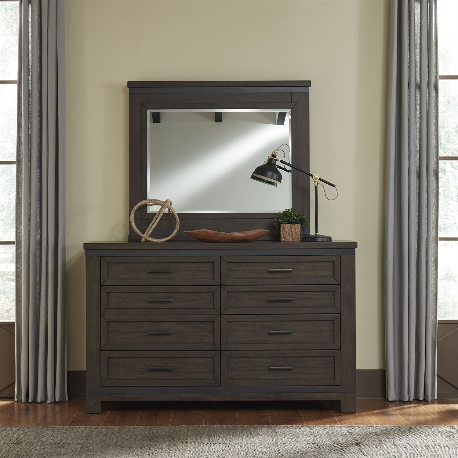 Liberty Furniture Bedroom Dresser And Mirror