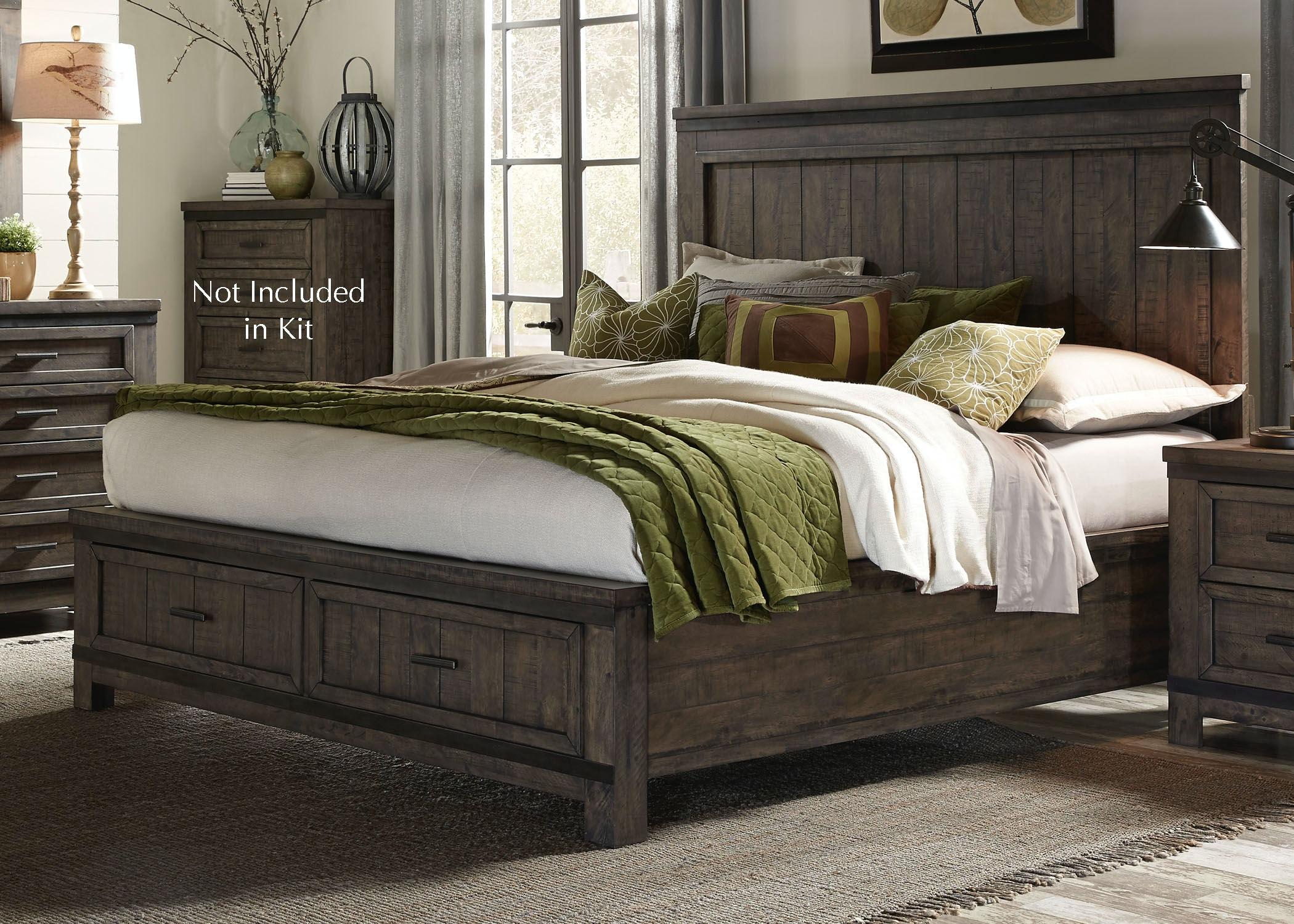 Elegant Liberty Furniture King Storage Bed 759 BR KSB ...