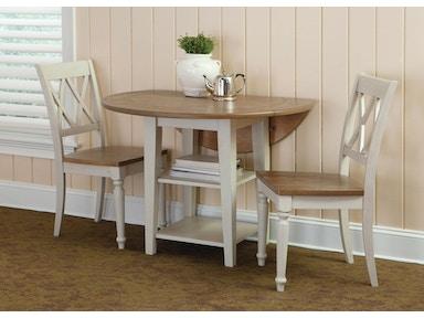 Liberty Furniture Dining Room Opt 3 Piece Drop Leaf Table Set 841-CD ...
