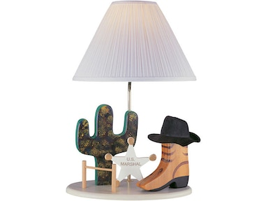 Lite Source Cowboy Lamp 3CB20106