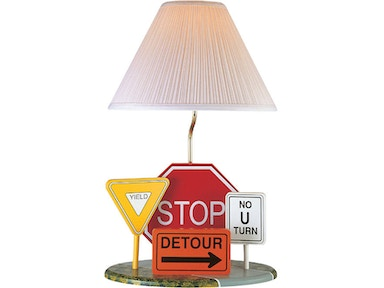 Lite Source Highway Signs Lamp 3HS20106