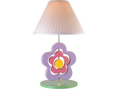 Lite Source Hippie Spinning Flower Lamp 3SFL50106