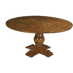 Lorts Manufacturing Dining Room Square-To-Round Table Top ...