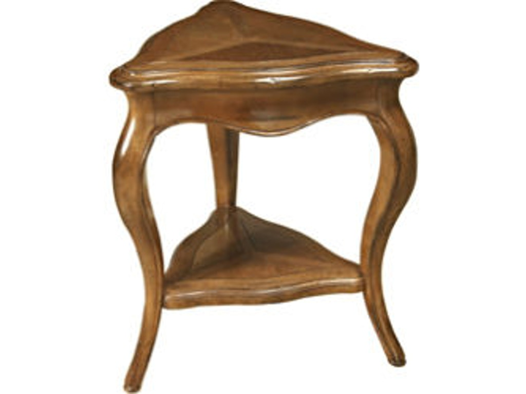 Lorts Manufacturing Living Room Triangle End Table 3212 Klingmans Grand Rapids amp Holland MI