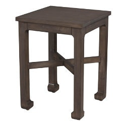 Lorts Manufacturing Living Room Square Chair Side Table