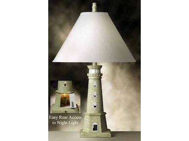 Medallion Lighting Room Group Lamp and Shade 451 TWH Lighthouse