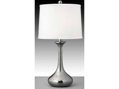 Medallion Lighting Table Lamp and Shade 28 in. S700DWH