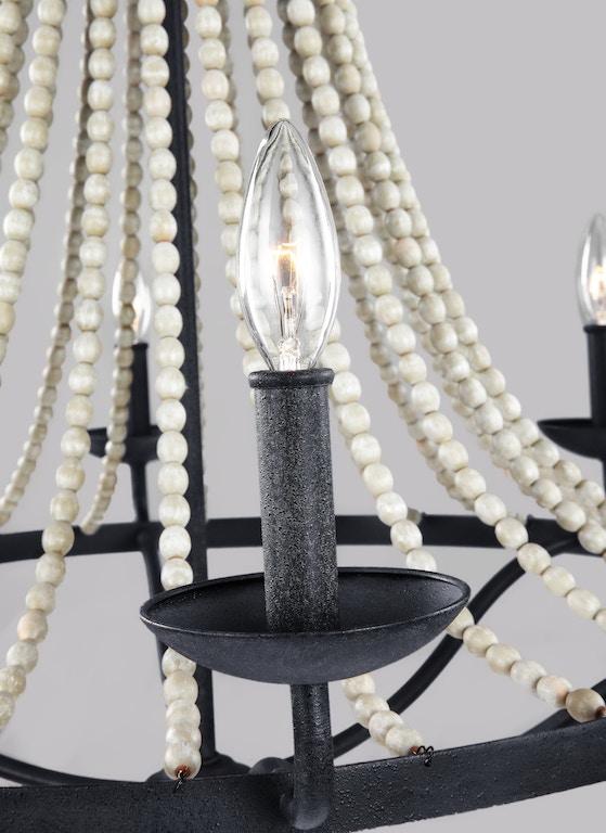 Murray Feiss Lamps and Lighting 6 - Light Chandelier F3129/6DWZ/DWG ...