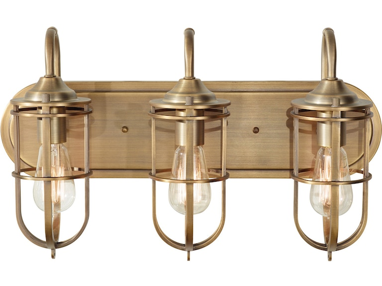 Murray Feiss Lamps and Lighting 3 - Light Urban Renewal Vanity Strip ...