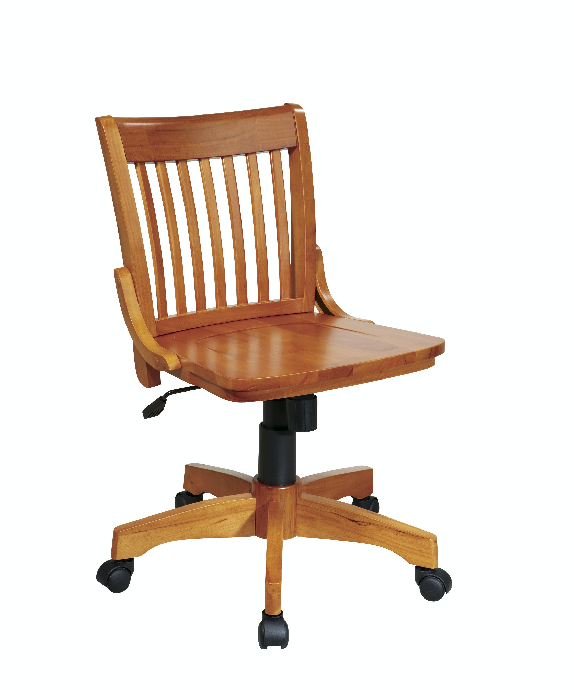 deluxe wooden home office. Office Star Products Deluxe Armless Wood Bankeru0027s Chair 101FW Wooden Home E