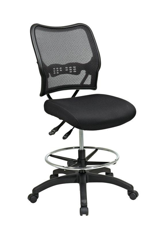 Deluxe Ergonomic Drafting Chair