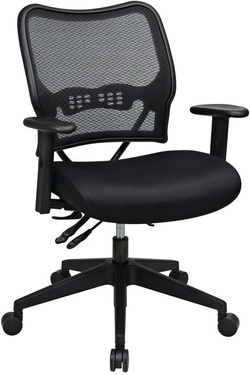 Office Star Products Home Office Deluxe Chair 13-37N9WA ...