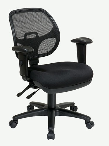 Office Star Products Home Office Mid Back 2 To 1 Synchro Tilt Chair With