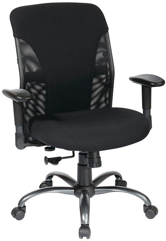 office star products home office mesh mid back chair 7161 rice