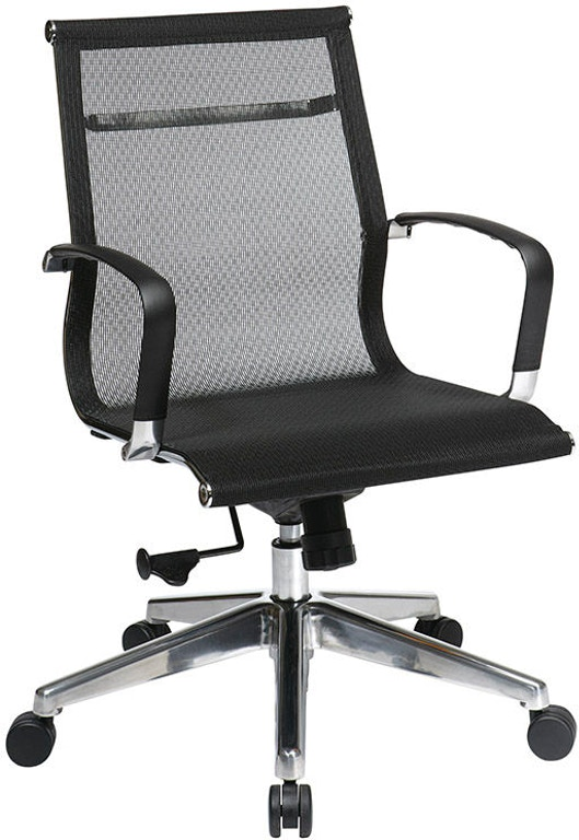 office star products home office mid back mesh chair 7361mlt