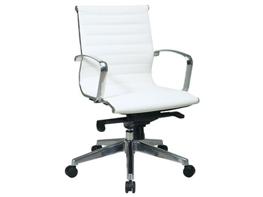 Office Star Products Mid Back Eco Leather Chair 74123LT