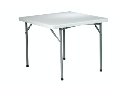 Office Star Products 36 Square Resin Table BT36