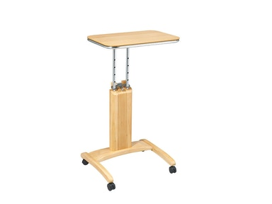 Office Star Products Precision Laptop Stand In Maple Finish PSN621