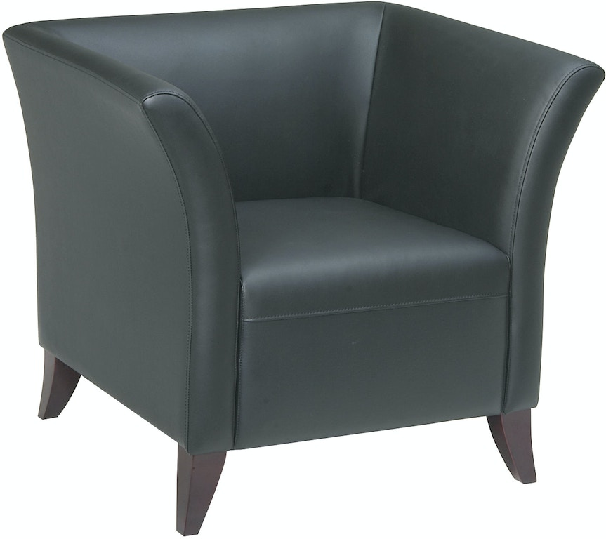 Cool Office Star Products Home Office Black Leather Club Chair Download Free Architecture Designs Scobabritishbridgeorg