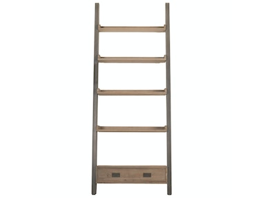 Orient Express Furniture Library Bookshelf 8053.SGRY-PNE/GRY